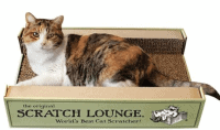 Cardboard Cat Scratcher | Fluffy Kitty