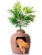 Good pet stuff plant hidden litter box