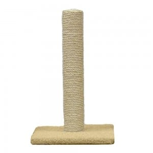 best eco-friendly cat scratching post | classy kitty scratching post for cat