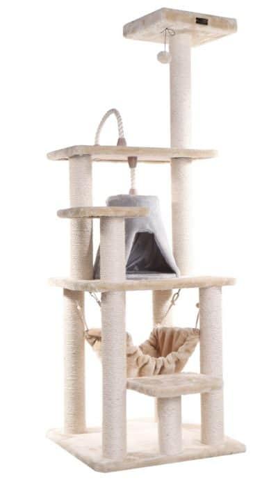 amarkat-2 best cat tree furniture with hammock