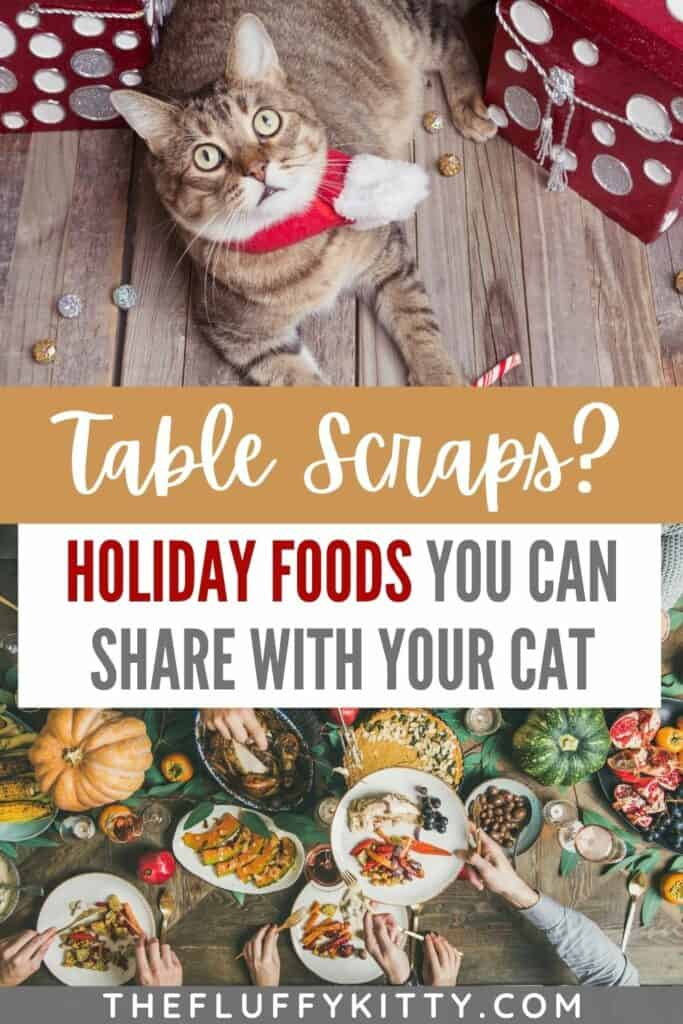 can cats eat table scraps for the holidays?