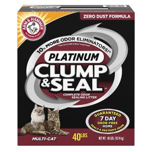 The Best Clumping Cat Litter | Fluffy Kitty