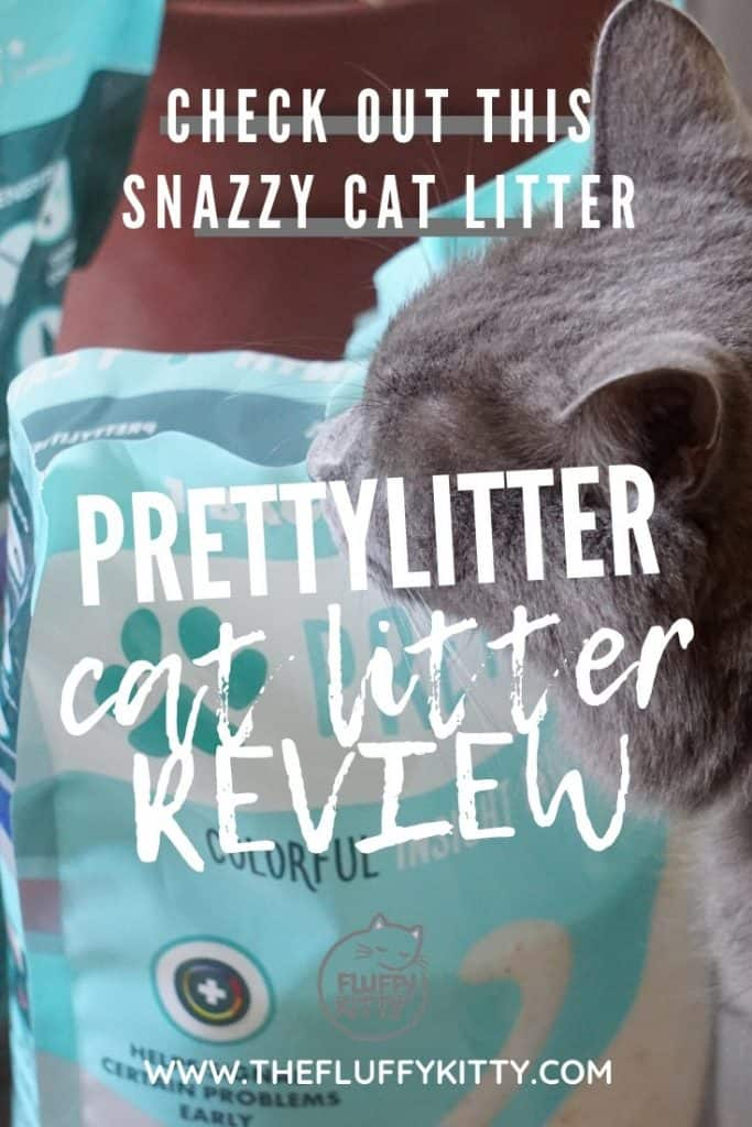 Ultimate PrettyLitter Cat Litter Review by The Fluffy Kitty www.thefluffykitty.com #cats #catlitter #catproducts #catlovers