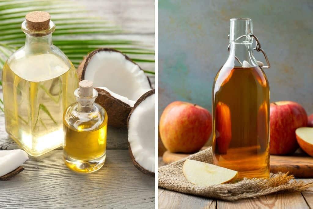 coconut oil and apple cider vinegar - natural dewormer for cats?